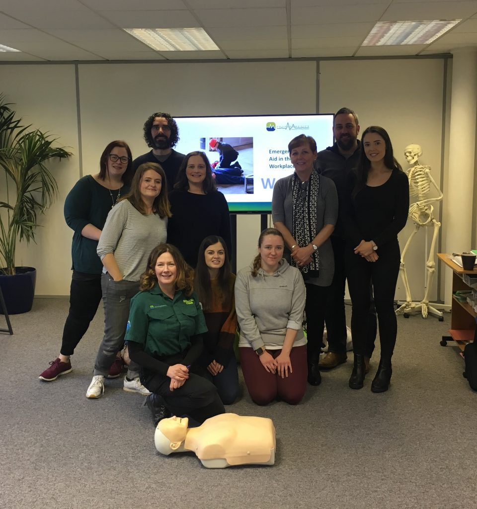 Cathedral Quarter Belfast First Aid Training